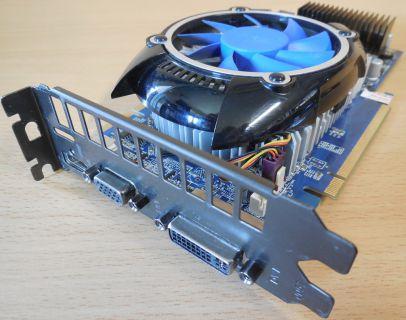 GALAXY nVIDIA GeForce GTS 250 1GB 256Bit GDDR3 DVI VGA HDMI PCIe 2.0 x16* g361