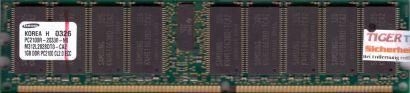 Samsung M312L2828DT0-CA2 PC-2100R 1GB DDR1 266MHz Server Registered ECC RAM*r604