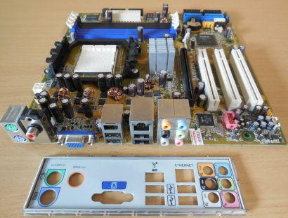 Asus A8M2N-LA Rev 1.06 Mainboard +Blende Sockel AM2 HP NodusM 5188-5622* m861