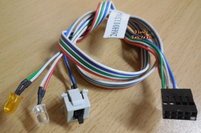 MAXDATA VIMS12IC00 PCMD 40015 26H001310-001 Power Reset Schalter HDD LED*pz470
