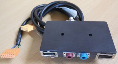IBM Lenovo ThinkCentre 54Y9907 PC Computer USB Audio Front IO Panel* pz481