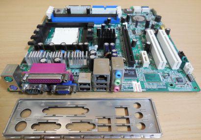 MSI MS-7168 Ver1C Mainboard +Blende AMD Sockel 939 PCIe DDR Powermate VL350*m872