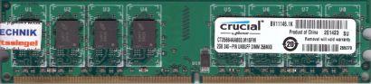 crucial CT25664AA800 M16FM PC2-6400U 2GB DDR2 800MHz Arbeitsspeicher RAM* r686