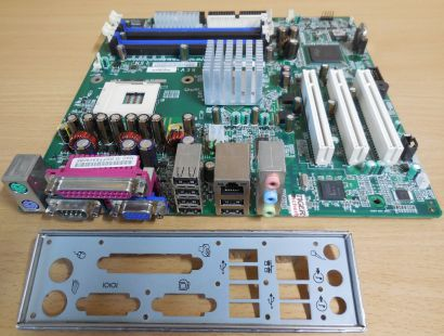 HP Compaq DX 2000 MT Mainboard +Blende 351067-001 350286-005 NR146 ver E01* m912