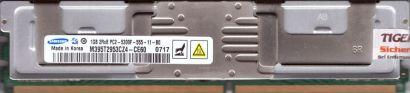 Samsung M395T2953CZ4-CE60 FB DIMM 1GB PC2-5300F 667MHz Arbeitsspeicher RAM* r03