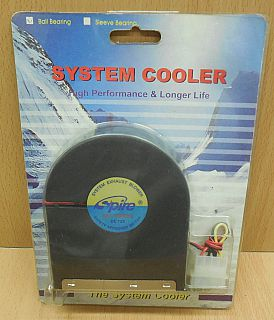 Spire System Cooler PCI Slot Entlüftungs Ventilator PC Kühler Fan Gebläse* gl110