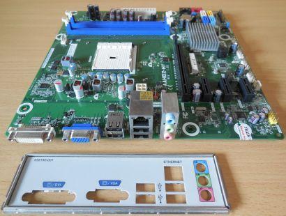 HP AAHD2-HY Rev 1.03 Mainboard +Blende 696350 001 701022 Rev 0C Sockel FM1* m934