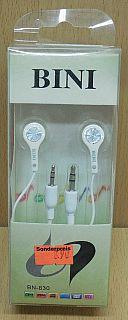 Bini BN-830 Audio Stereo Kopfhörer mit 3,5 oder 2,5 mm Anschluss* so825