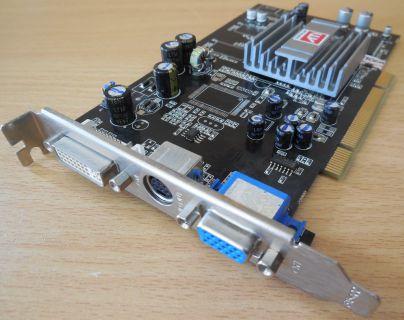 Sapphire 1024-RC25-H2-SA ATI Radeon 9250 PCI 128MB 64Bit DDR DVI VIVO VGA* g418