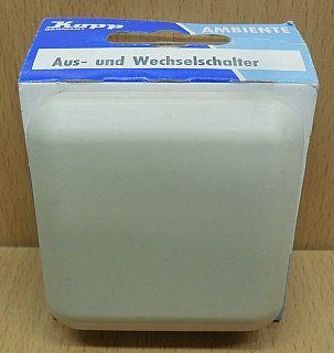 Kopp Ambiente creme weiß Aus und Wechselschalter 6836.0107.5 Unterputz* so851