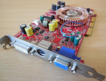 Medion MSI MS-8958 Ver1 FX5700LE-TD128 AGP 128MB 128Bit DDR VGA DVI TV-Out* g424