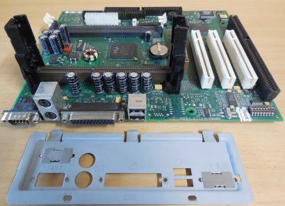 FSC D1115-F10 GS 2 Mainboard +Blende ISA Slot 1 Intel 440BX AGP PCI SDRAM* m947