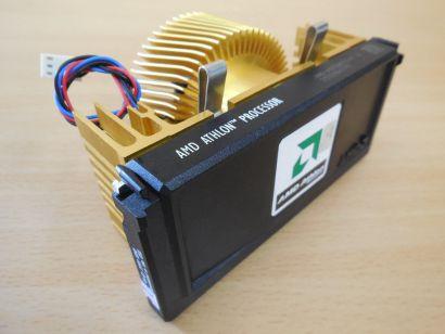 CPU AMD Athlon 700 MHz AMD-A0700MPR24B A FSB200 Slot A Thermaltake Gold Lüfter* c970
