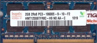 Hynix HMT125S6TFR8C-H9 N0 AA-C PC3-10600 2GB DDR3 1333MHz SODIMM RAM* lr133