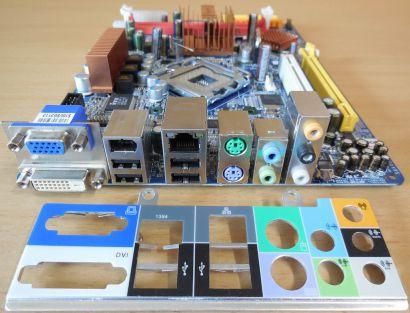 Shuttle XPC Glamor SG31G2 Mainboard FG31 (S5113)V1.2 +Blende Sockel 775 G31*m954
