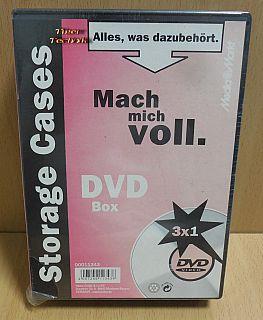 3x Hama Case CD DVD Blu ray Hülle Leerhüllen schwarz NEU OVP* so881