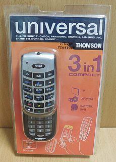 Thomson ROC3205 Universal Fernbedienung 3 in 1 compact TV DVD VCR SAT DVB* so885