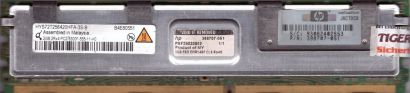 Qimonda HYS72T256420HFA-3S-B FB DIMM 2GB PC2-5300F 667MHz HP 398707 051 RAM*r734
