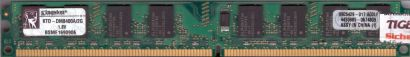 Kingston KTD-DM8400A 2G PC2-4200 2GB DDR2 533MHz 9905429-017 A00LF RAM* r737