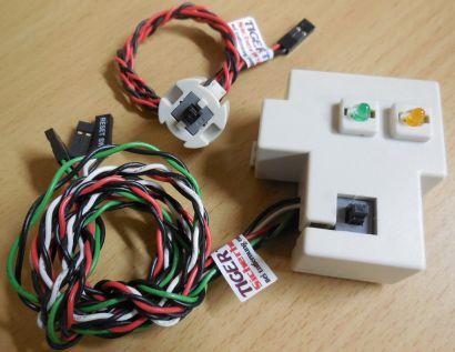 HP Z400 PC Power Schalter Switch Power LED HDD LED Sensor* pz78
