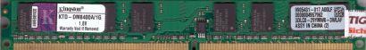 Kingston KTD-DM8400A 1G PC2-4200 1GB DDR2 533MHz 9905431-017 A00LF RAM* r738