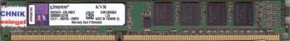 Kingston KVR13N9S8 4 PC3-10600 4GB DDR3 1333MHz 99U5474-038 A00LF RAM* r740