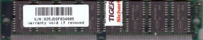 Waffer 32MB FPM RAM PS 2 72 pin SIMM non Parity WF2617400-6 Arbeitsspeicher*r763