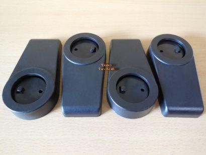 Chieftec Gehäusefüße Set bestehend aus 4 Stück schwarz 90 Grad drehbar* pz841