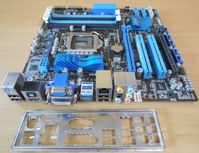 Asus P8H67-M PRO Rev3.00 Mainboard Intel H67 Sockel 1155 DDR3 USB3 DVI HDMI*m998