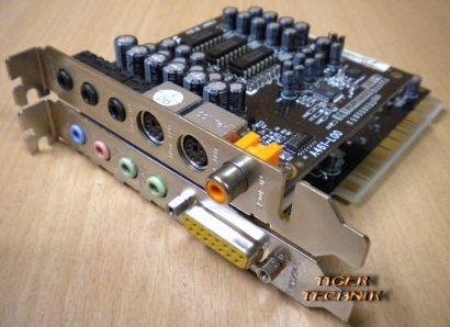 Typhoon A471-N60 Soundkarte mit Surround Erweiterung A461-L00 s37