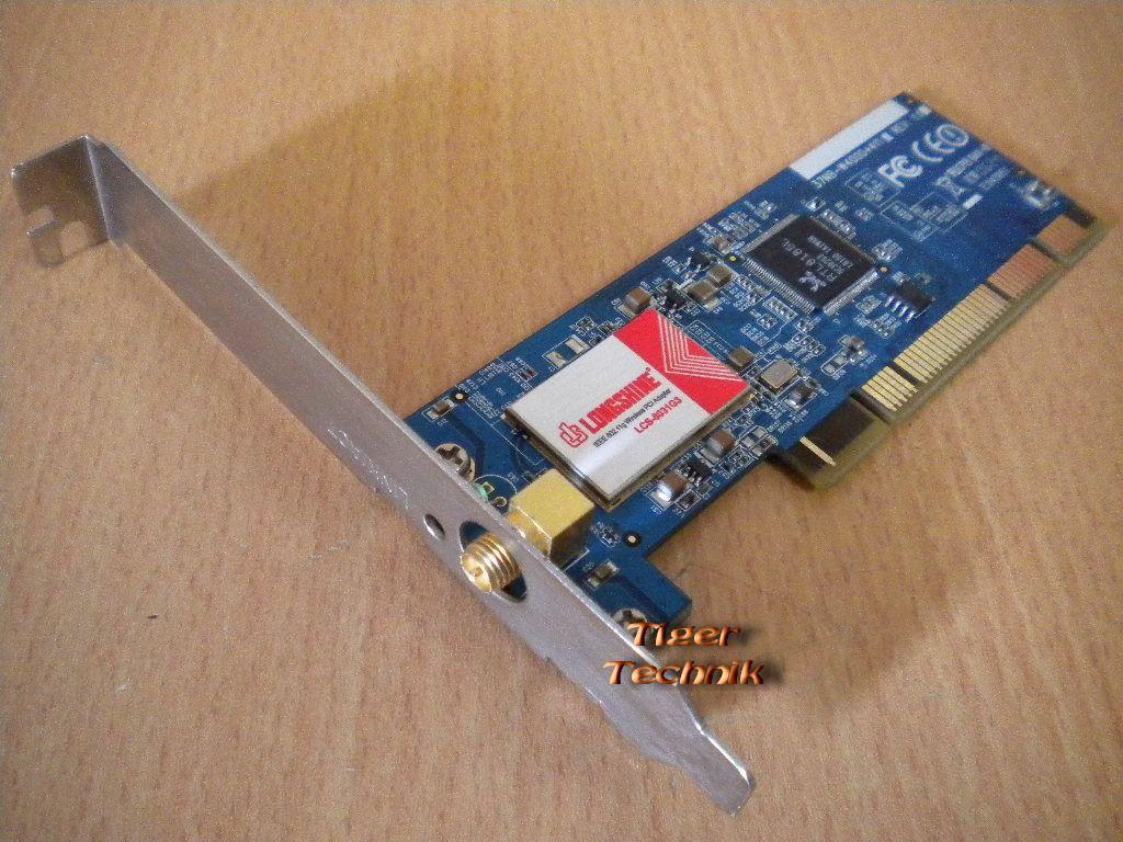 Pci Wlan Karte.Details Zu Longshine Lcs 8031g3 Wireless Wlan Pci Adapter Karte 2 4 Ghz Nw41