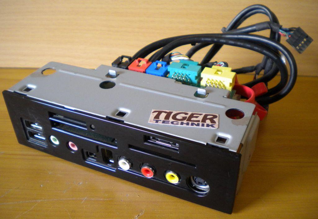 Medion PC MT 9 Multimedia Front Panel USB Video Au - Tiger Technik