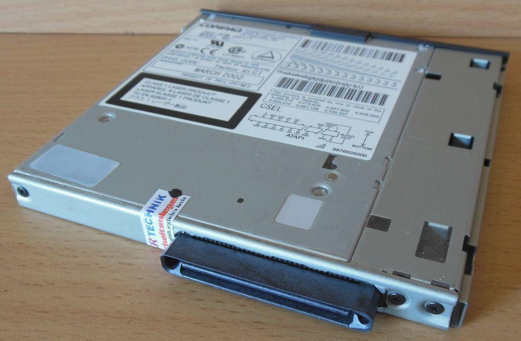 COMPAQ DVD-ROM SD-C2512 TREIBER WINDOWS XP