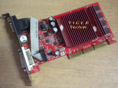 Gainward GeForce FX5200 AGP8x Grafikkarte 128MB VGA DVI TVOut* g91