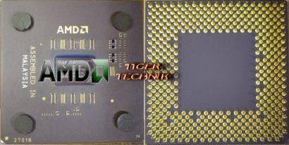 CPU Prozessor AMD Duron 750MHz D750AUT1B Sockel A 462 FSB200 64KB* c44