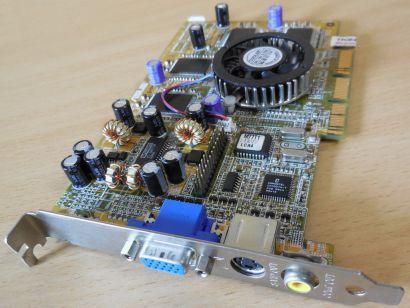 Asus AGP-V7700/32M TVR GF2 GTS Grafikkarte AGP4x 32MB* g98