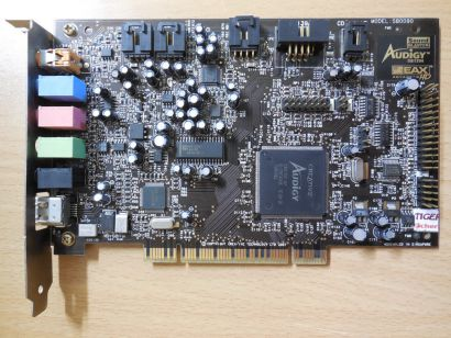 Creative Labs SB0090 Audigy SB1394 Sound Blaster Live PCI Windows 7 Support* s51