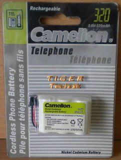Camelion Ni-Cd 320mAh 3,6V Telefon Akku Pack Neu & OVP* so04