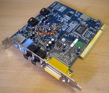 Hercules Gamesurround Fortissimo II Cirrus Logic CS4624 PCI Soundkarte s04