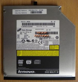 Lenovo H-L Data Storage Hitachi GT33N Super Multi DVD III RW Laptop Brenner* L700