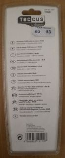 Teccus by Vivanco Absorberkabel TV Radio Antennenkabel 90db Koax 1,5m* so93