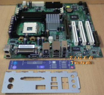 Asus P4S533-VX Mainboard +Blende Sockel 478 Sony Vaio PCV RX-4 Series LAN* m122