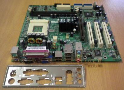 FIC AM39L-L Mainboard + Blende Sockel A 462 FSB333 Grafik Audio LAN AGP 8X *m127