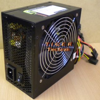 RASURBO SilentPower DLP55.1 Netzteil 550W 24-pin PCI-E 6pin 2xSATA 4xMolex*nt161