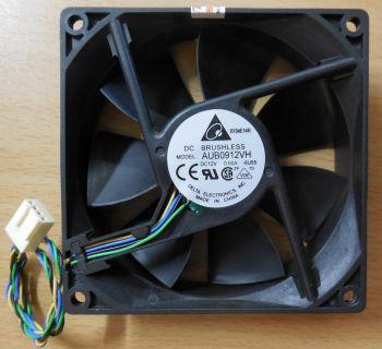 Delta Electronics AUB0912VH Gehäuse Lüfter 3800 U.min 92mm 12V 4-pin* gl20