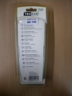 Teccus by Vivanco Receiveranschlusskabel SAT Kabel weiß 5m F-St. - F-St. so139