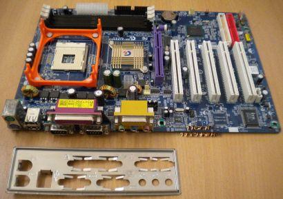 Gigabyte GA-8IR2003 Rev 2.0 UDIMM 266MHz Meinboard+Blende* m153