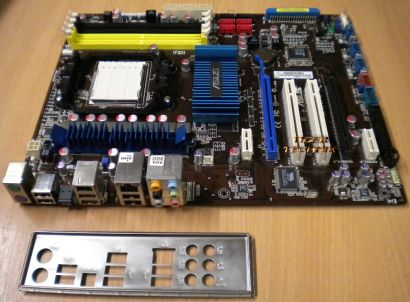 ASUS M4N72-E nForce 750a AM2 AM2+ AM3 AMD Phenom™II X4 ATX Mainboard* m157