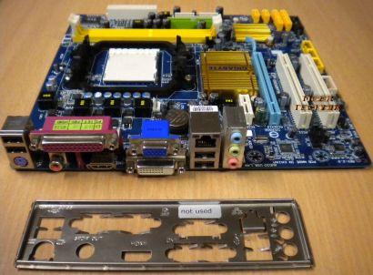 Gigabyte GA-MA74GM-S2H AMD AM2+ AM3 AMD Phenom™ II X6 ATX Mainboard* m158