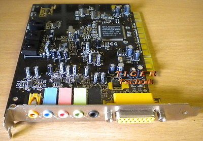 Creative SB0220 Soundkarte PCI 5.1 Digital Sound Blaster Live!* s18